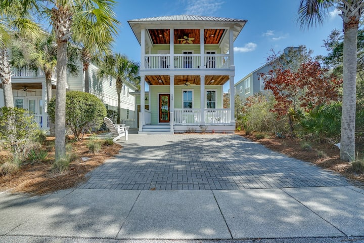 30A Beach House - The Snazzy Crab