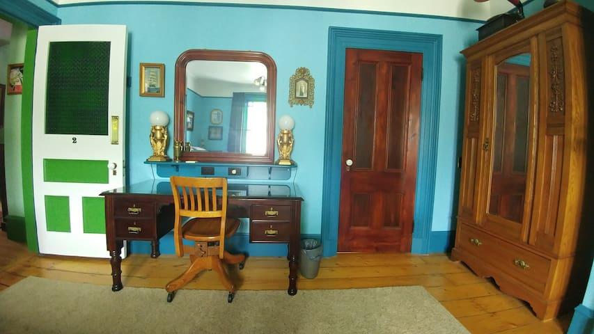 Blue Room - Dresser and Closet