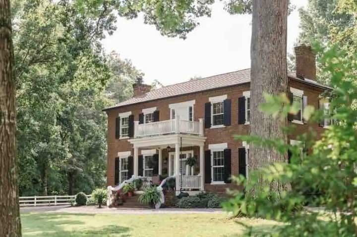NEW LISTING! Boyd Harvey Main House and Carriage House