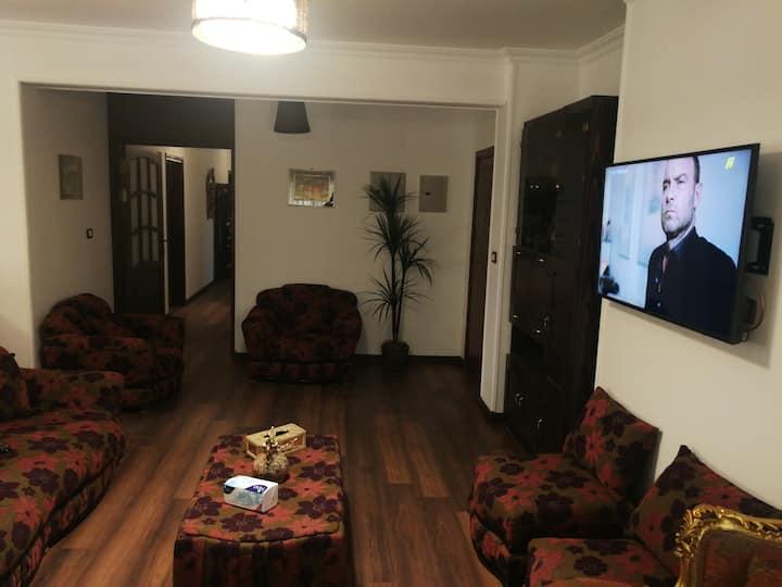 Three bedrooms apartment degla maadi