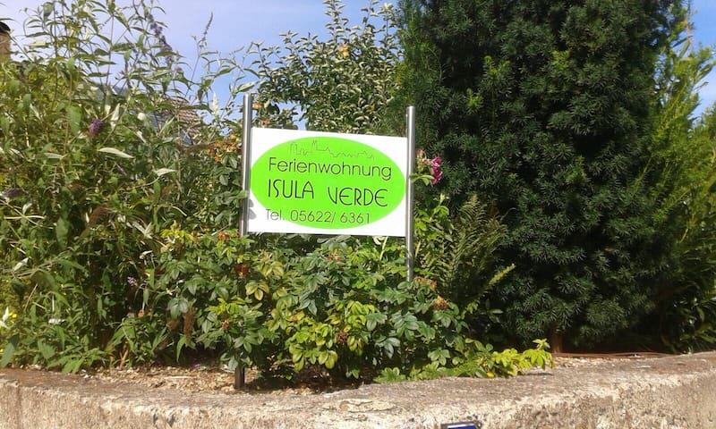 Ferienwohnung Isula Verde- Urlaub im Grünen