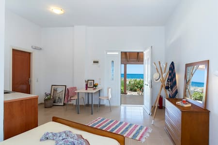 Sea & Sun apartments/studios right on the beach