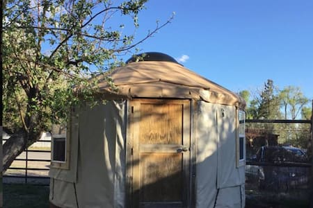 Warm & Cozy Crestone Downtown Yurt/Monthly Rental