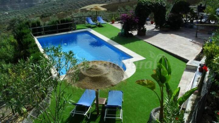 Villa in Valle de Abdalajís with stunning views
