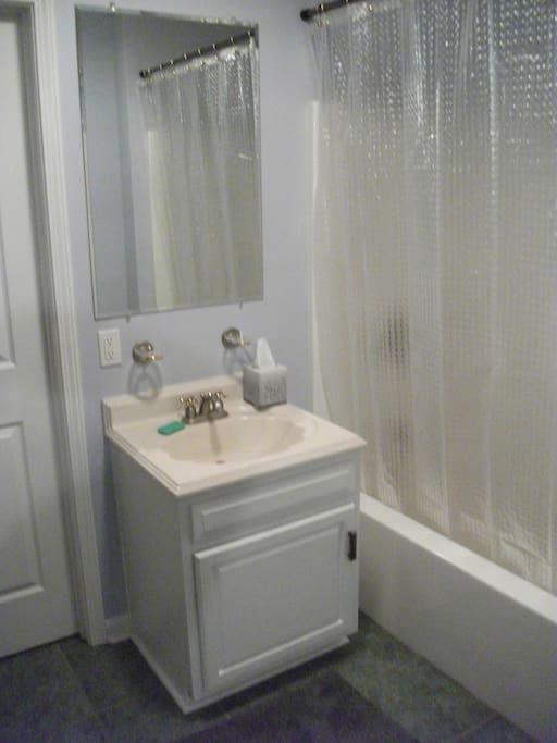 Jack & Jill (shared) full bathroom