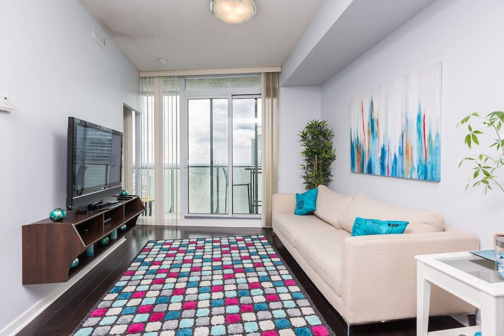 Beautifully Designed Living Area