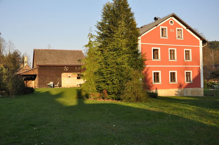 Gunter mill (Günter mühle) - Jetřichovice - Casa
