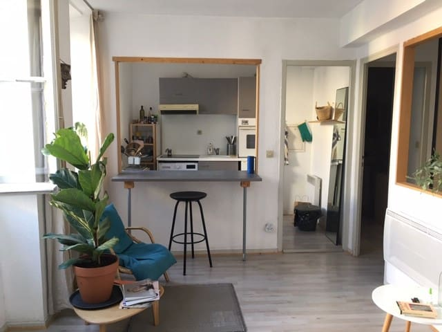 Studio apartment Bordeaux Saint-Paul