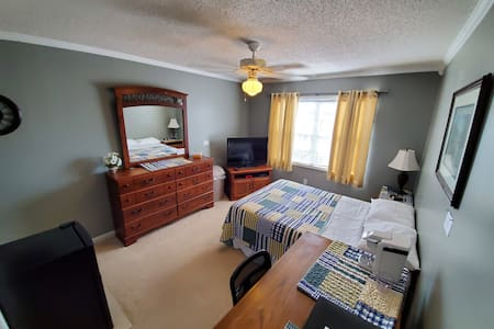"Room A of  ""Cozy Room Near Ft. Rucker & Dothan"""