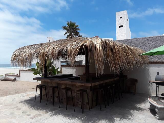 Beach Front Casita in gated Community of La Salina