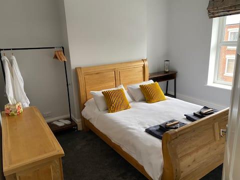 Modern upstairs apartment