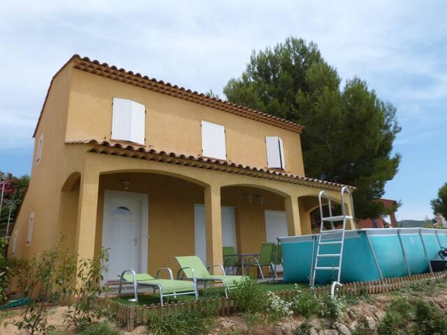 Villa Neuve 8 pers. proche Bandol - Le Castellet - Haus