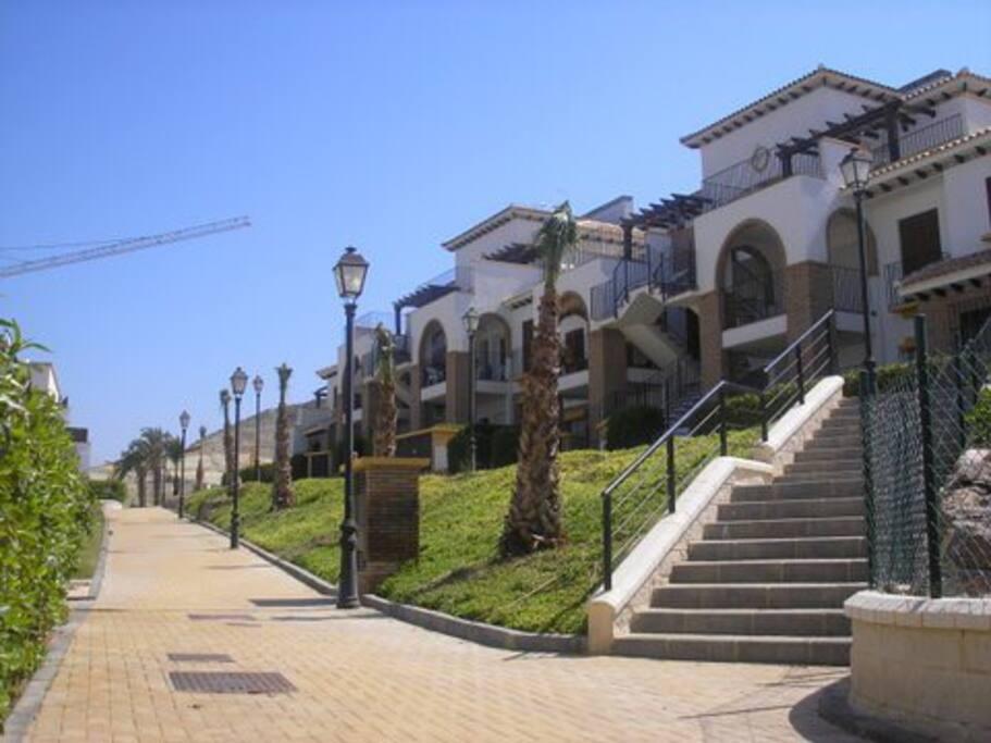 Plaza parking interior privada