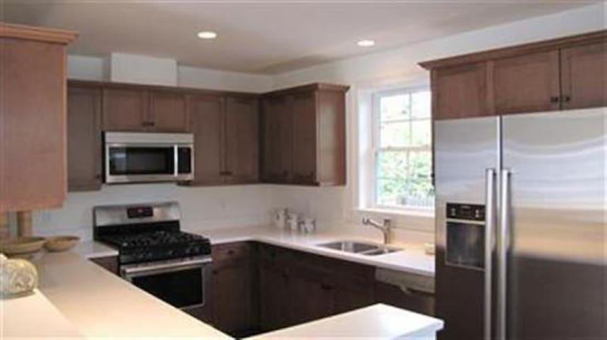 Bosch stainless appliances in Kitchen