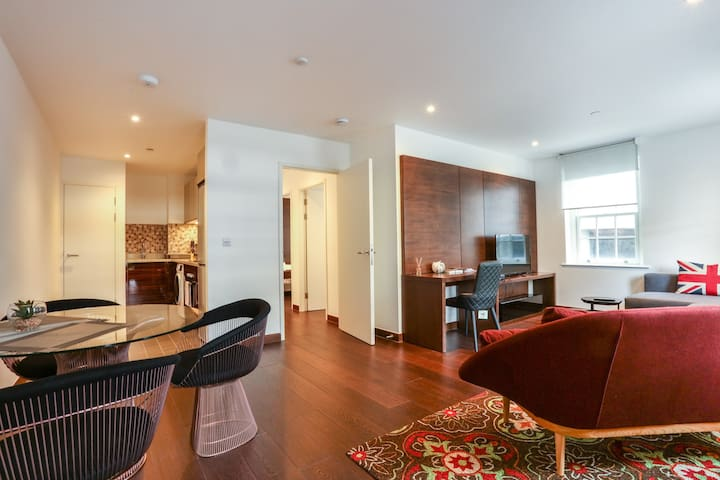 Beautiful newly designed 2 bedroom apartment 2