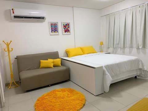 Beach Class Boa Viagem- Flat/Studio A
