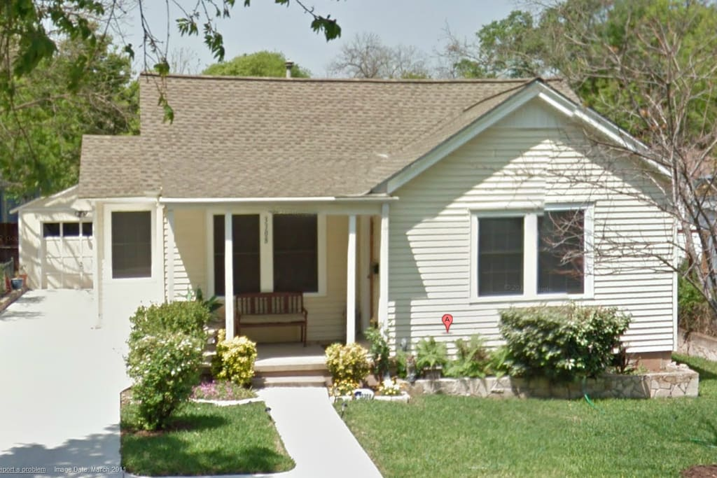 Centrally located, remodeled eastside cottage.