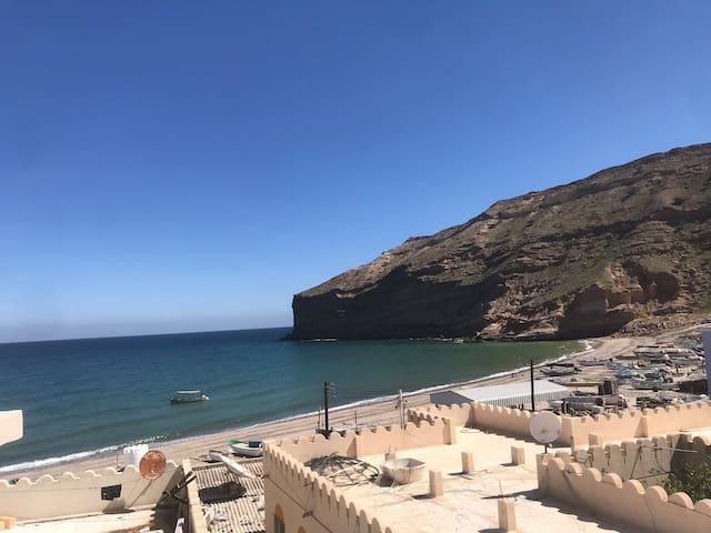 Private room in Qantab beach
