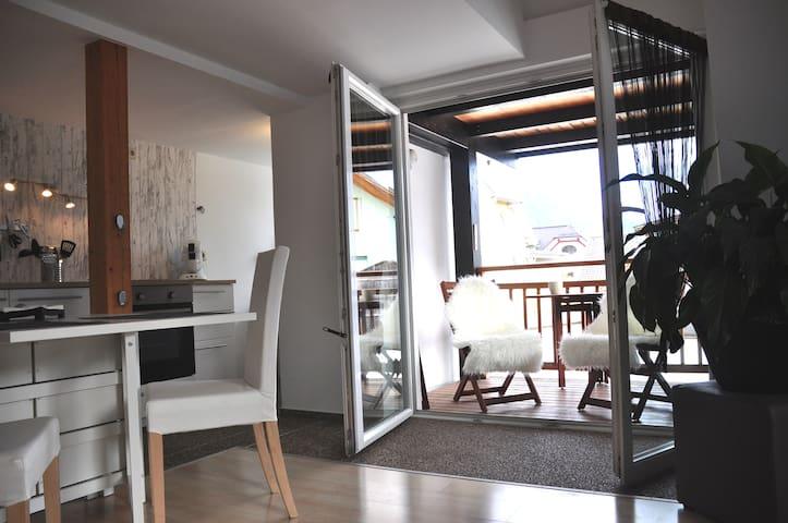 Gemütliche Dachgeschoss-Wohnung im Stadtzentrum