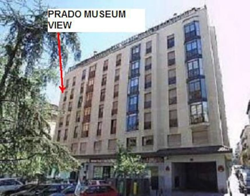 PRADO MUSEUM VIEW APARTMENT MADRID