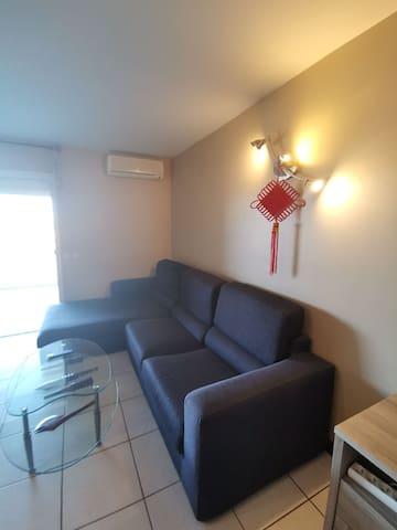 Fauteuil en L spacieux Large L sofa