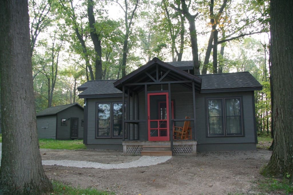 Camp Woodbury Cabin 4 Cabins For Rent In Dexter
