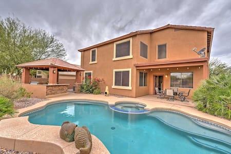 5BR Phoenix House w/Private Pool & Hot Tub - Maricopa - Haus