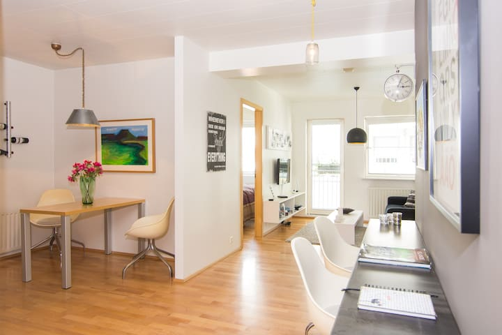 Apartment in the heart of Akureyri - Akureyri - Departamento