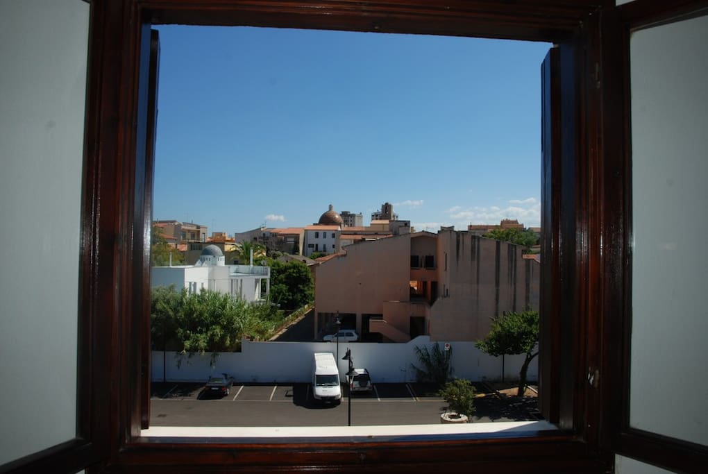 vista dalla camera da  letto