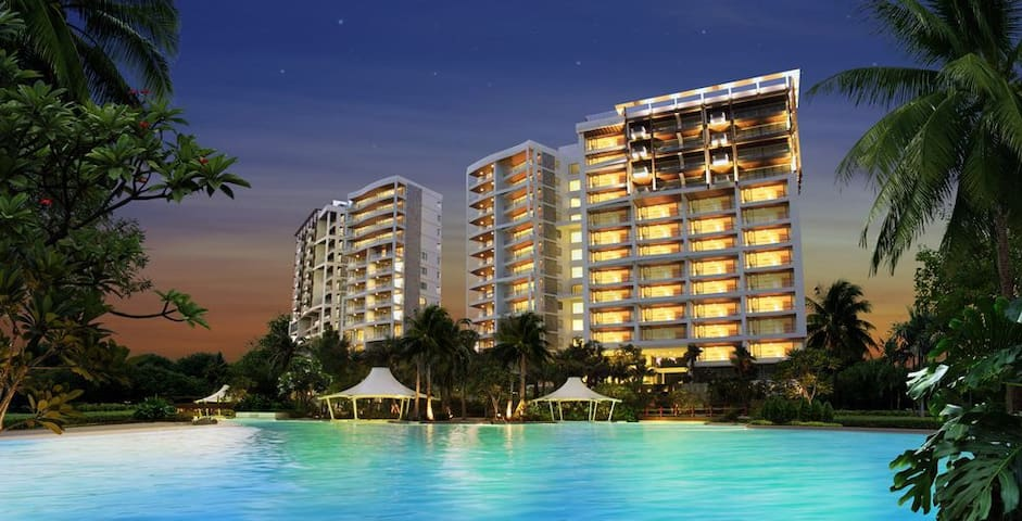 Elegant Beach Front Apartment - Klang - Apartament