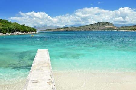 Perfect Flat Easy Vacation 40m Sea - Ksamil - Apartment