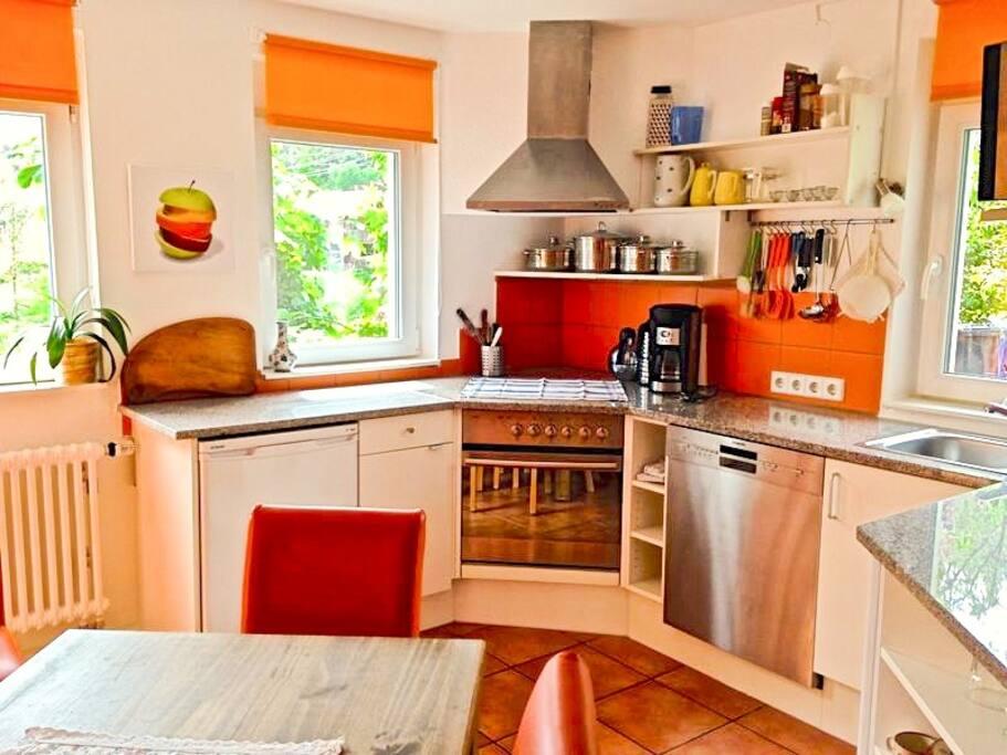 casa alma sonnige wintergarten parterrewohnung appartamenti in affitto a kleines wiesental. Black Bedroom Furniture Sets. Home Design Ideas