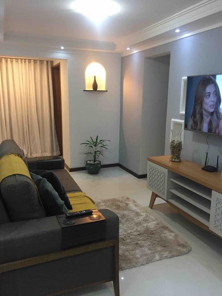 Lindo e aconchegante apartamento para 04 pessoas