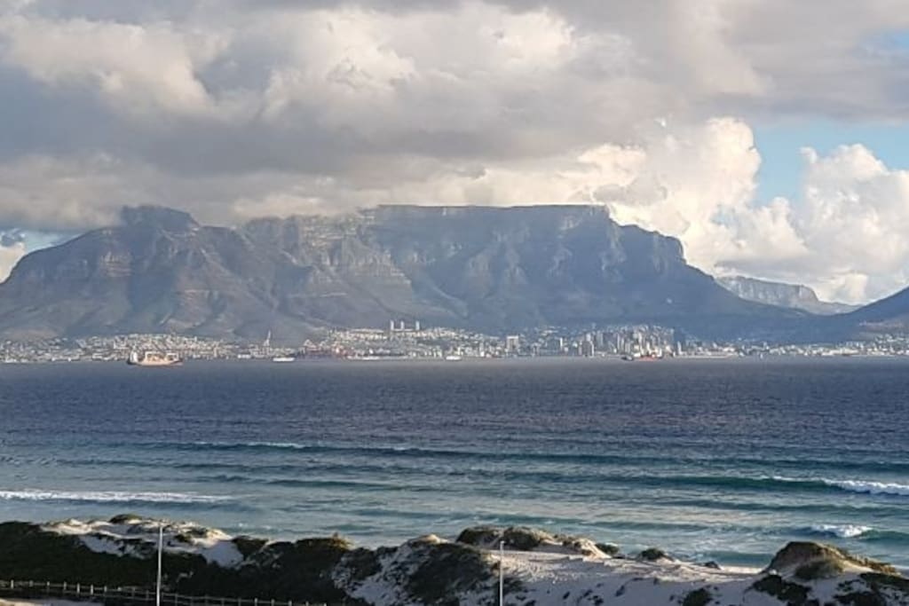View from the balcony towards Table Mountain