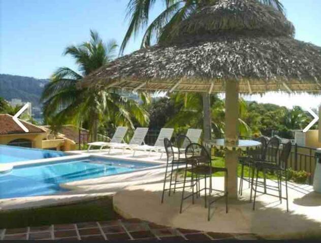 Habitación independiente con servicios en Acapulco