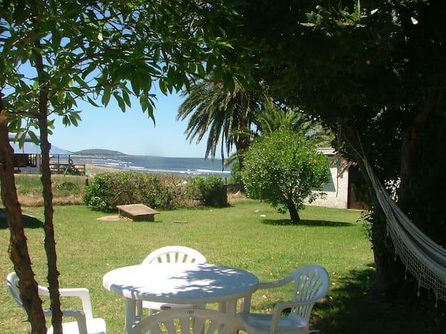 Beach cottage at Las Flores