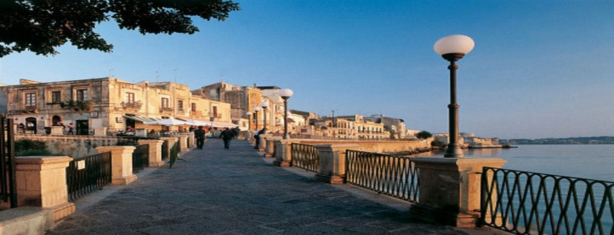 Ortigia, Lungomare