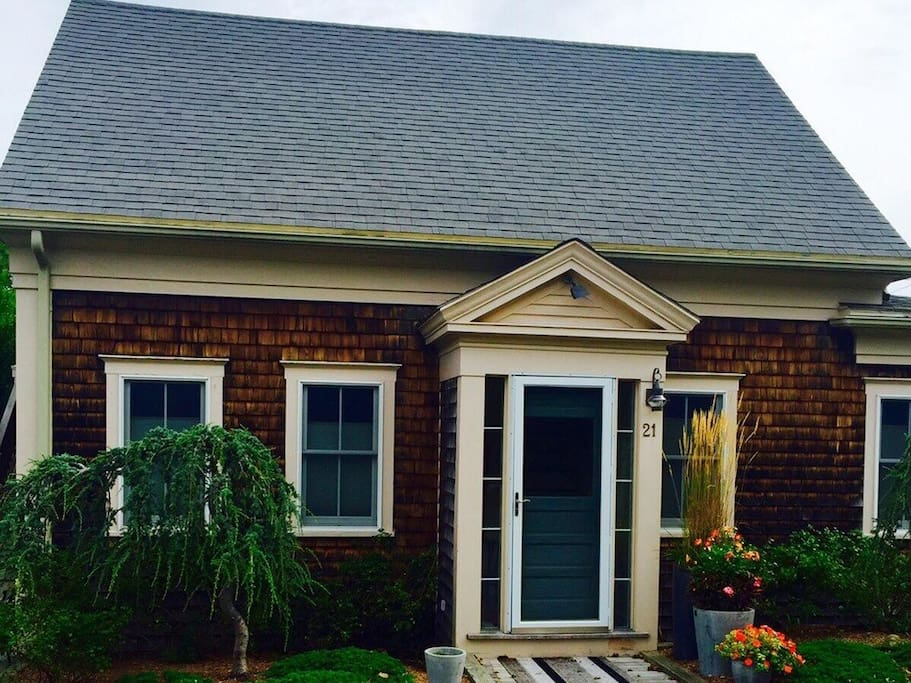 Front Entrance with classic cape cod feel