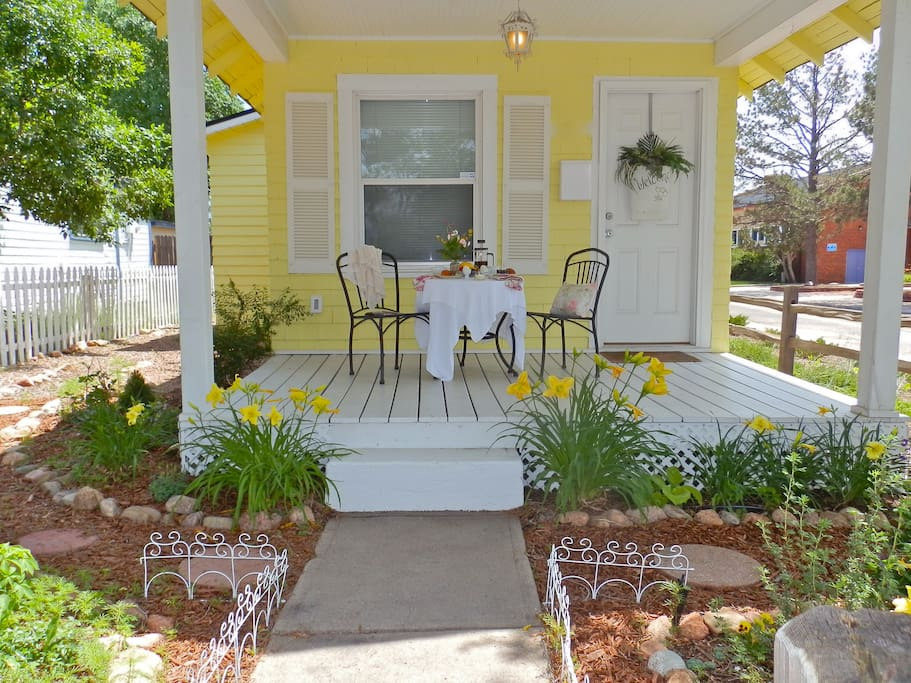 Ultra Charming Front Porch