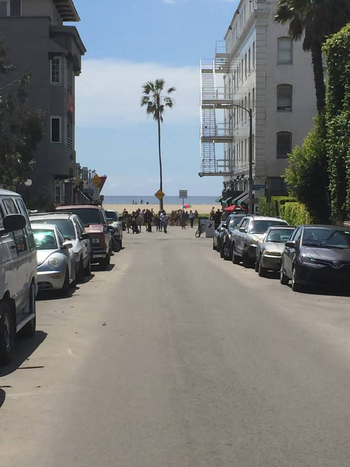 Venice @ the Beach | Ocean View Yard |