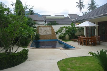 Balinese style 3 bedroom private pool villa in Kathu golf - Kathu