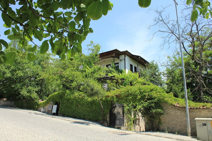 Kuscu Konak Historical Home Terrace Garden 1.