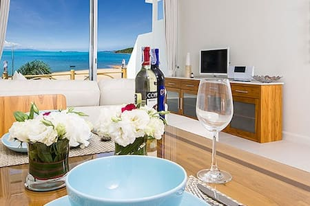 B1 Beachfront Apartments - Bleau Suite, Bophut