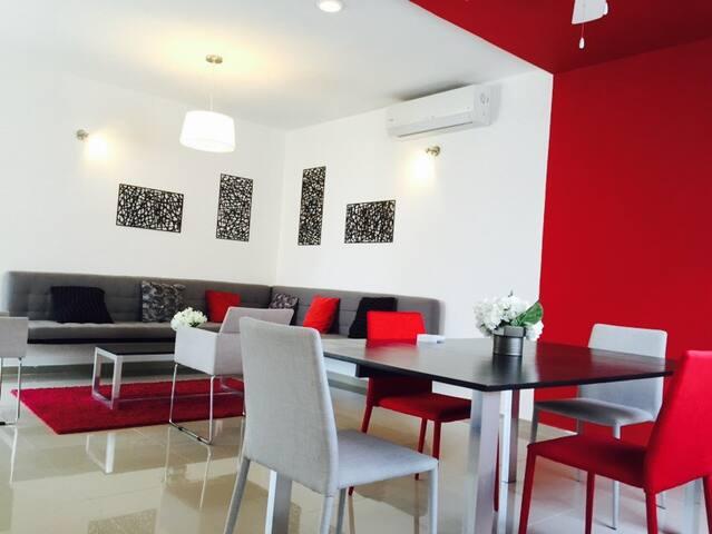 Deluxe Apartment in Altabrisa - Mérida - Apartament
