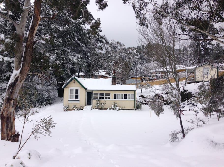 July 2015 snowfall