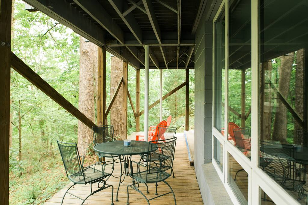 Privacy In The Nc Botanical Gardens Flats For Rent In Chapel Hill North Carolina United States