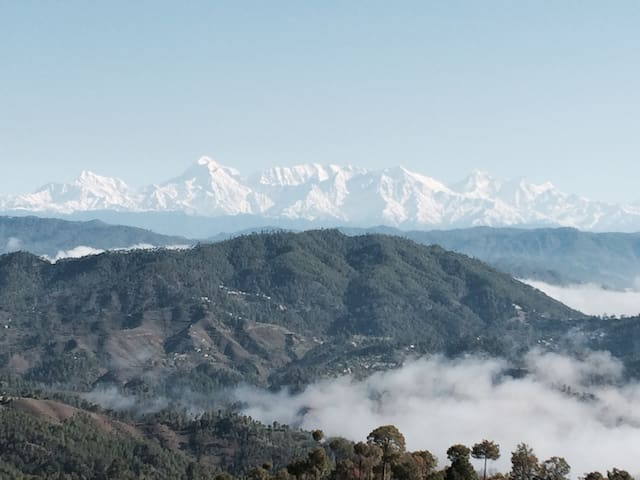 Hill cottage- Trishul, Nanda peaks - District Almora - Casa
