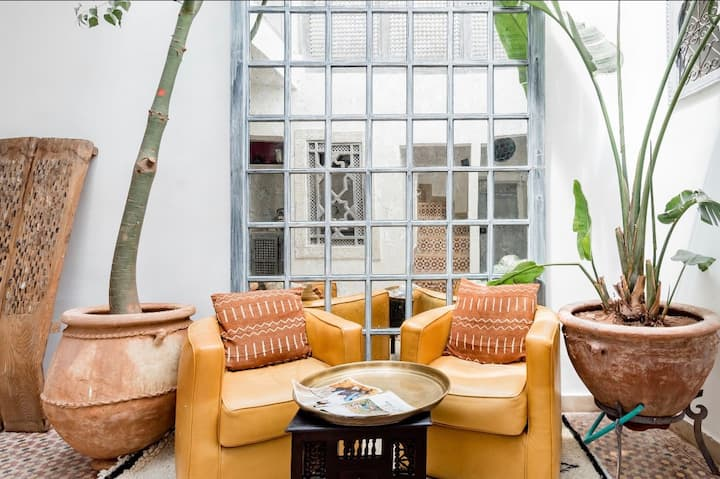 Entire PRIVATE Riad-Up to 5 People-Dar Mtiwla