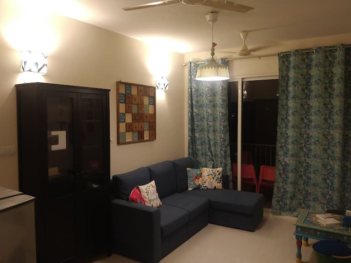 Brand new 2 BR apt (Rio de Goa from Tata) 3 AC