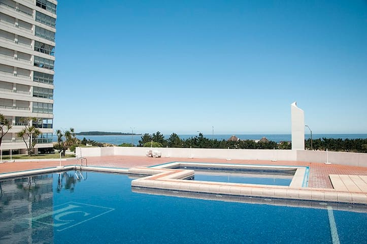 the best sunset and sea view. minimalist apartment - Punta del Este - Apartemen